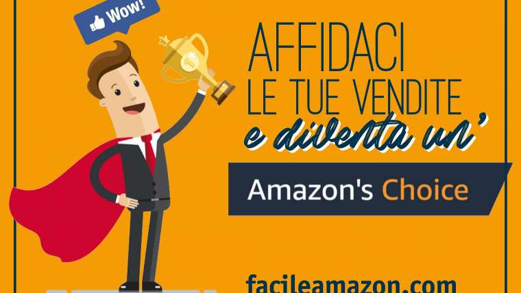 Diventa un' Amazon's Choice!